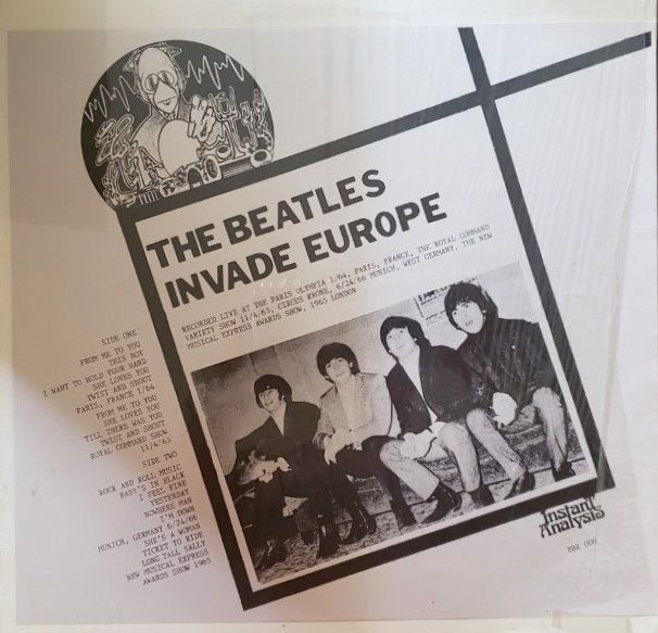 THE BEATLES INVADE EUROPE   Instant Analysis BRR008